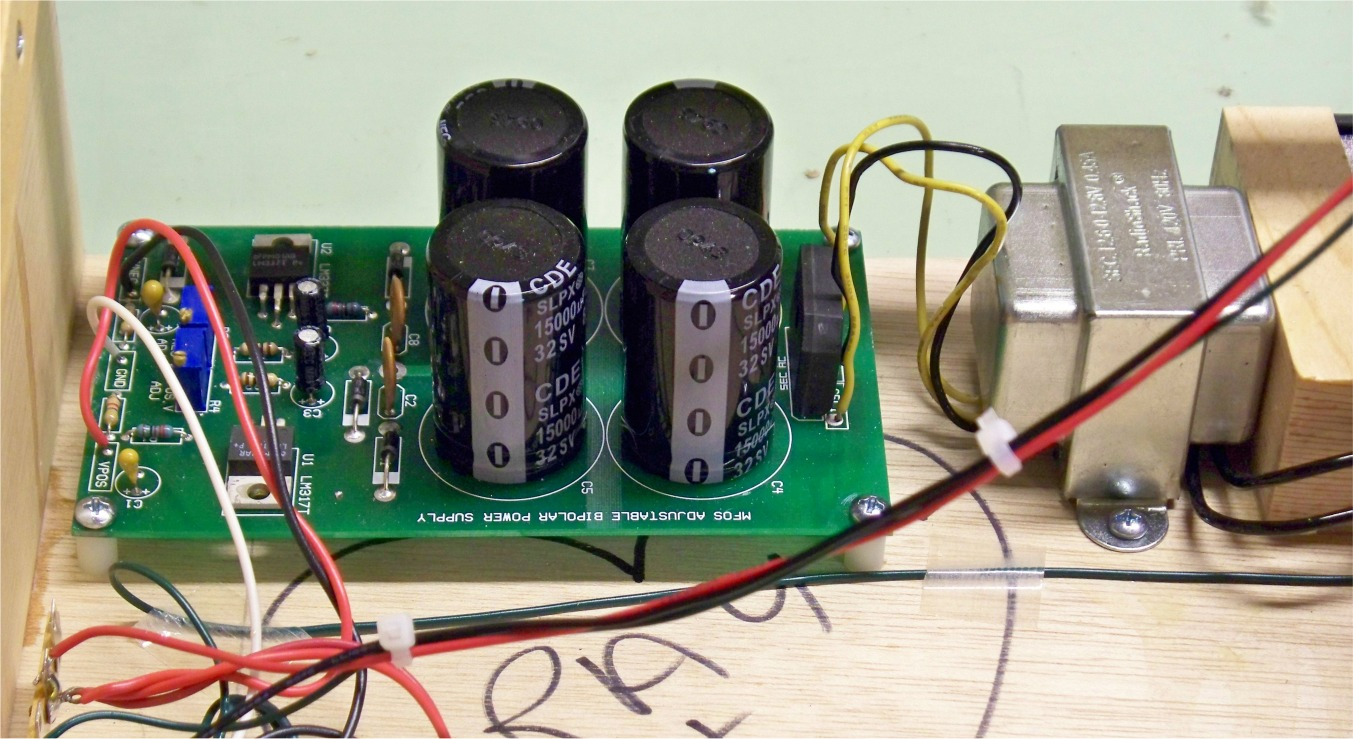 Build Notes Power Supply Using Lm 317 Lm337 Electronic Circuits And Diagram I Used The Mfos Adjustable Lm317 15a In My Unit To Be Honest Its A Bit Of Overkill Left On All Night During Some Testing