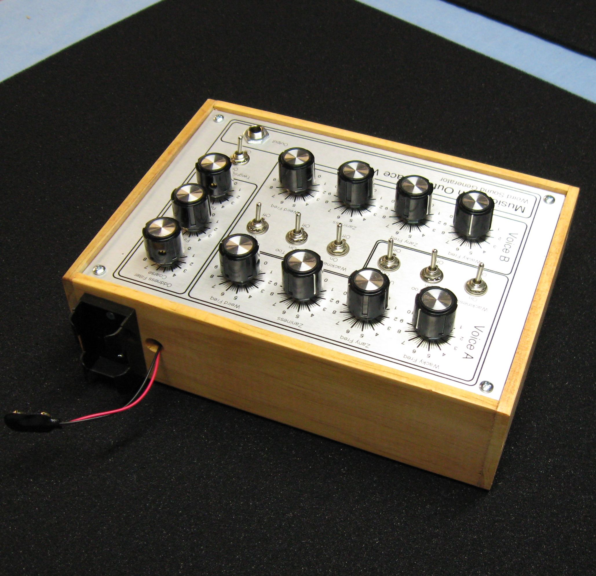 Weird Sound Generator Reborn Audio Generators Projects Circuits Give